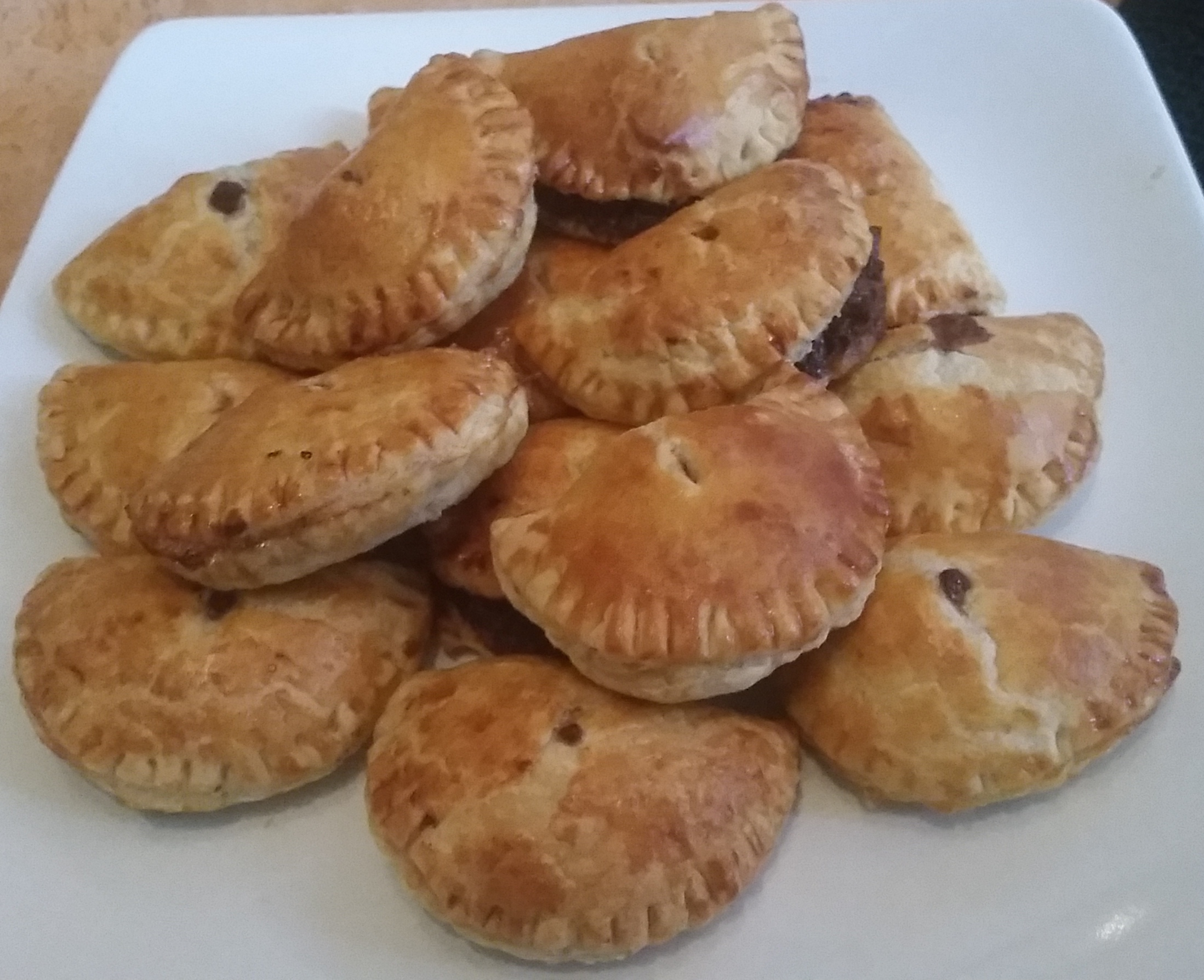 Pulled pork pasty recipe
